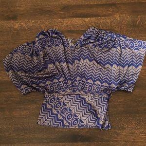 Fei kimono blouse